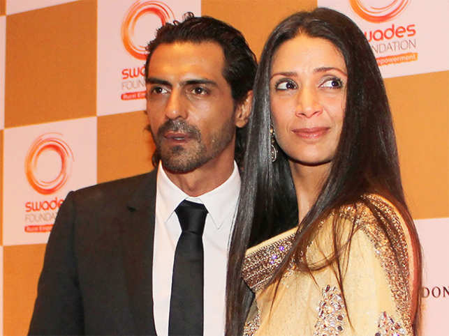 Arjun Rampal and Mehr Jessia announce separation after 20 years of marriage