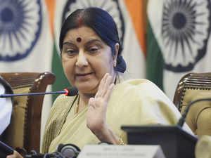 No comprehensive dialogue with Pak till it shuns terrorism, says Sushma Swaraj