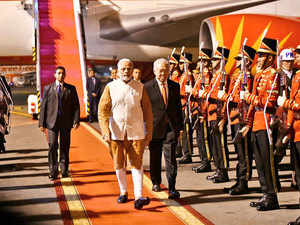 Watch: PM Modi accorded guard of honour in Indonesia's Jakarta