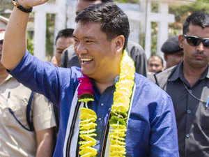 BJP to go alone in next year's Arunachal Pradesh assembly poll: Pema Khandu