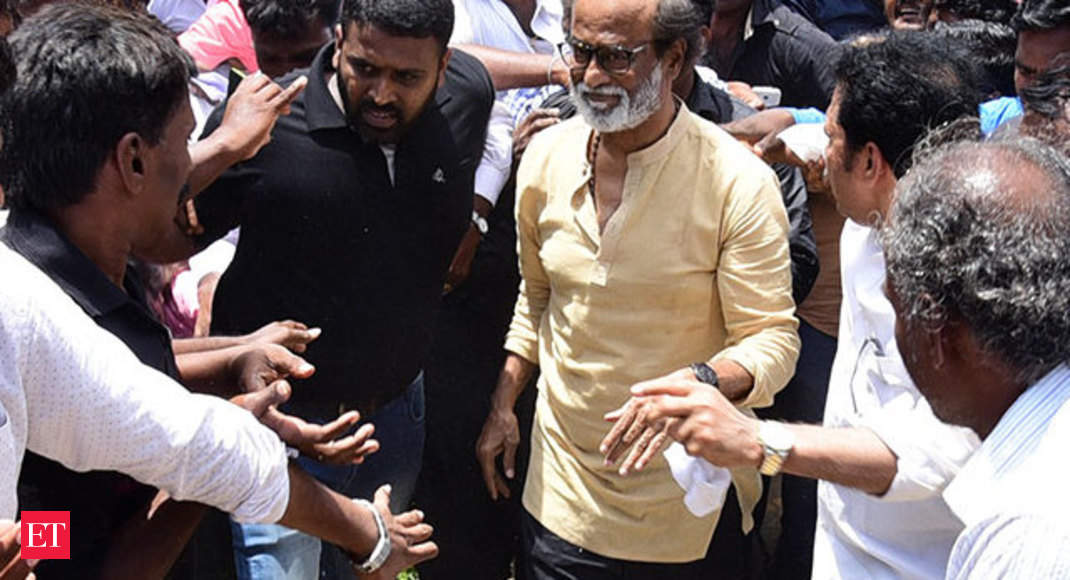 Watch: Angry Rajinikanth blames anti-social elements for Tuticorin incident