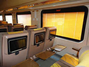 Indian Railways gives Tejas Express a luxurious makeover