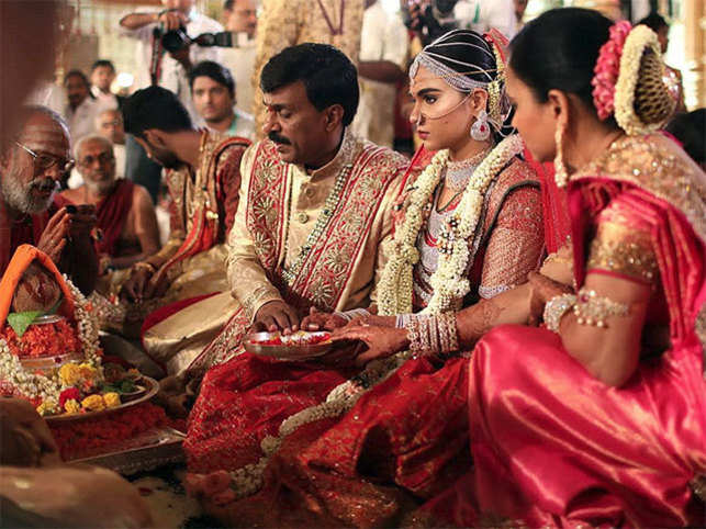 Grand vows: $74 mn wedding in Reddy family; Russian oil tycoon's