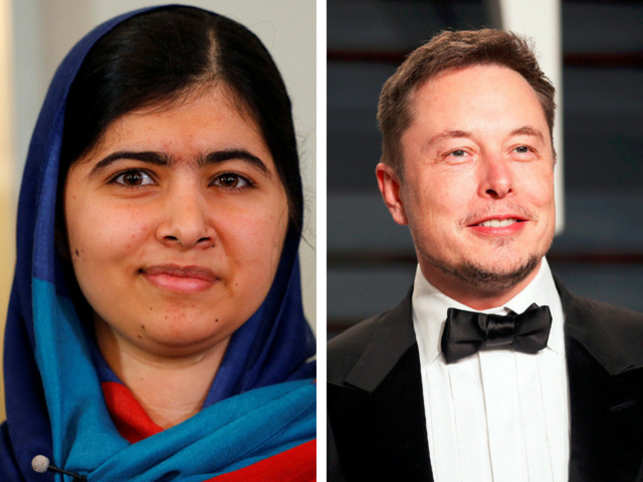 Malala Yousafzai and Elon Musk's Twitter banter is sure to make your day