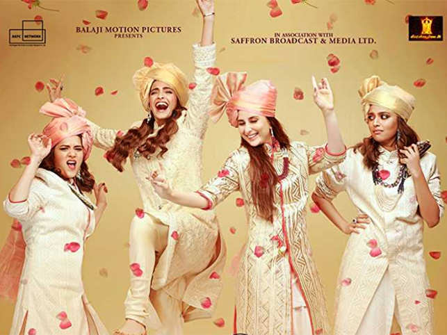 Veera Di Wedding.Veere Di Wedding Review The Four Friends Dealing With Life Will