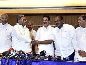 Karnataka portfolio-sharing deal announced; Congress-JDS to jointly fight 2019 LS polls