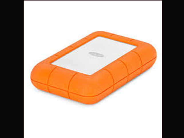 Lacie Is The Hard Drive With A Rugged Design And Usb