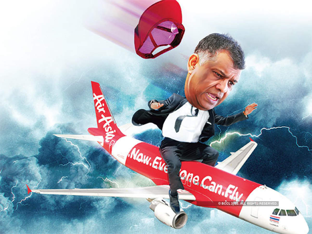 एयरएशिया के सीईओ टोनी फर्नांडीज और टाटा ट्रस्ट