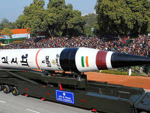 India successfully test-fires nuclear capable Agni-5