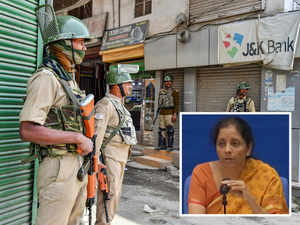 Ceasefire violation: Terror and talks cannot go hand in hand, says Nirmala Sitharaman