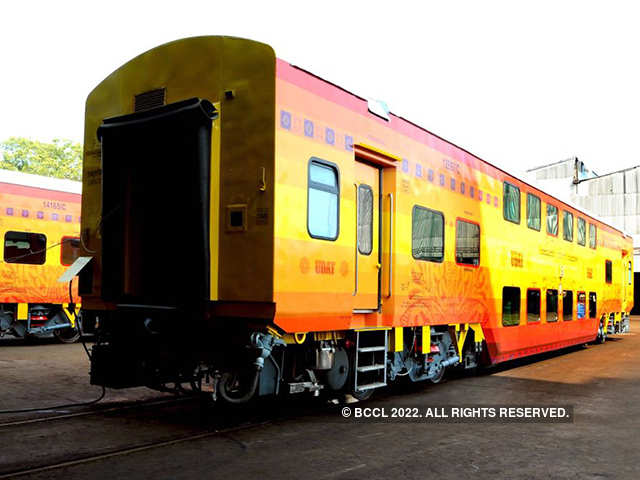 Uday: Uday Express: Coimbatore-Bengaluru double-decker train to run
