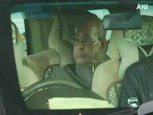 Pranab Mukherjee reaches Nagpur airport, will attend RSS event on Thursday