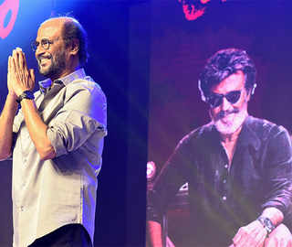 Fans pour in to watch Rajinikanth's 'Kaala' with drums despite heavy downpour