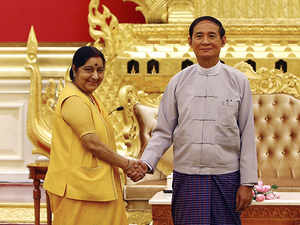 India and Myanmar discuss boundary, security, defence