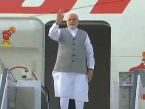 Watch: PM Modi emplanes for China to attend SCO Summit