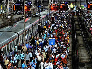 Monsoon arrives in Mumbai; suburban trains running late