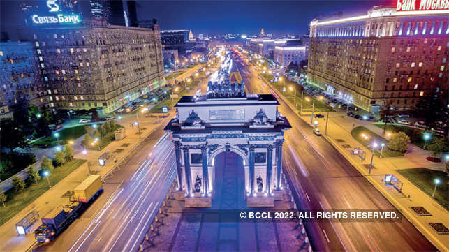 The Triumphal Arch of Moscow
