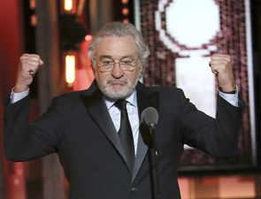Robert De Niro drops F-bomb on Donald Trump at Tony Awards