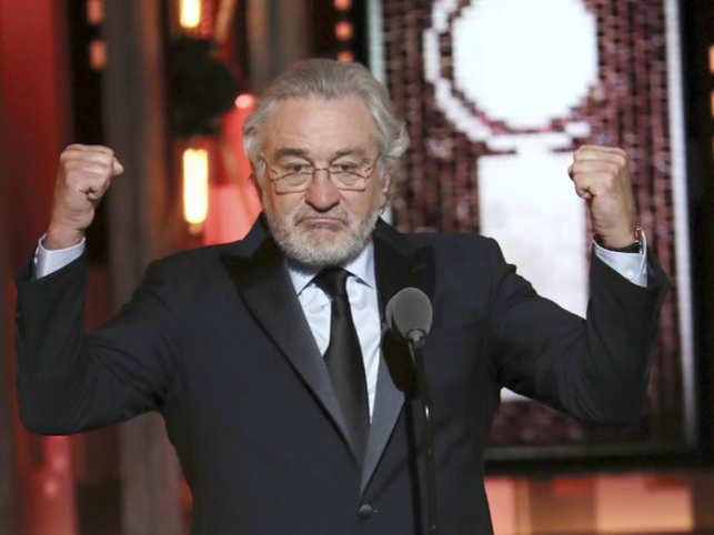 975e9b8346 Robert De Niro drops F-bomb on Donald Trump at Tony Awards - The ...