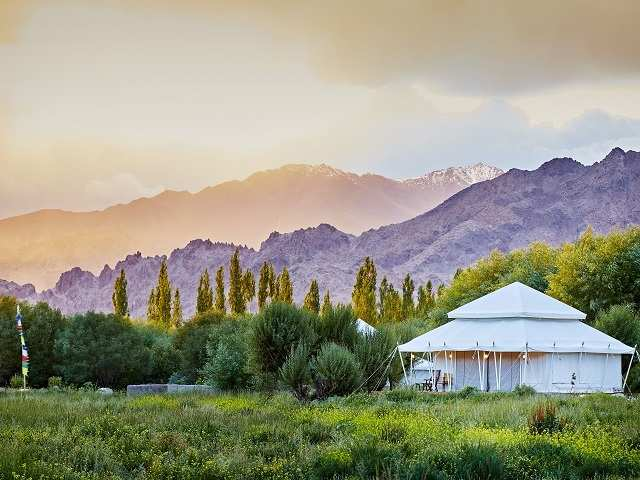 Head to Ladakh with 'The Ultimate Travelling Camp' for an ultimate glamping experience