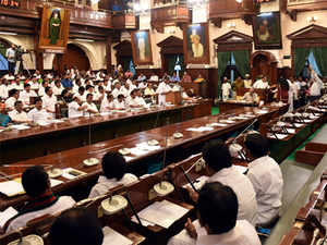 tamil nadu assembly: Woman Congress MLA evicted from the Tamil Nadu