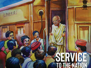 indian railways: Artwork by peon selected as cover of rail