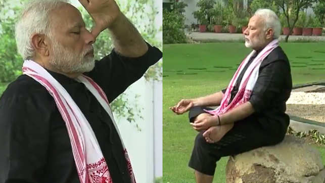 PM Modi accepts Virat Kohli's challenge, posts his fitness video