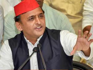 Bungalow damage row: Akhilesh Yadav says BJP is conspiring against him