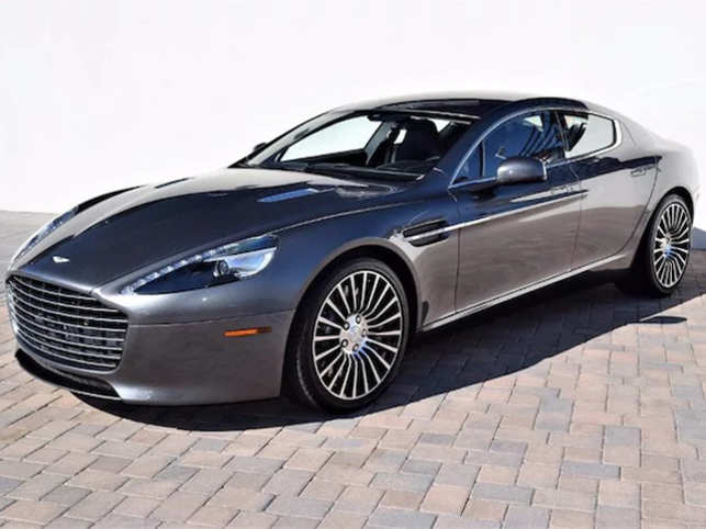 Aston Martin Rapide Why James Bonds Aston Martin Rapide Worth - How much is an aston martin