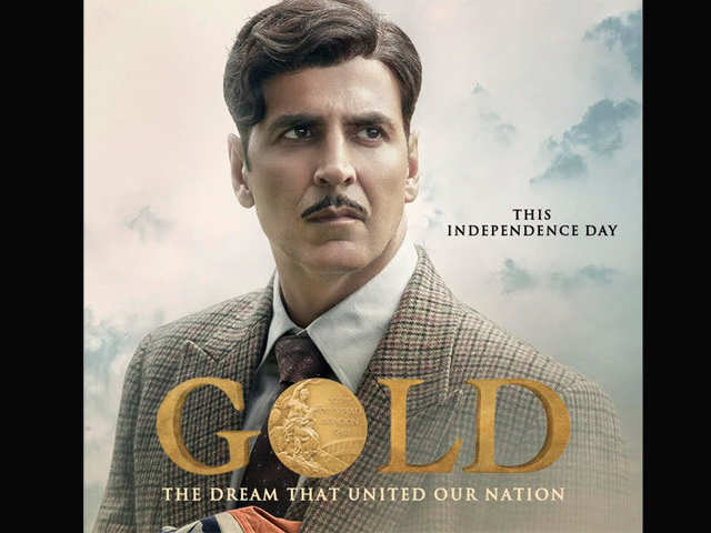 Akshay Kumar treats fans with an official poster of 'Gold'