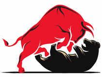 Bull-bear-fight