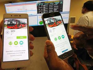 BMTC mobile app