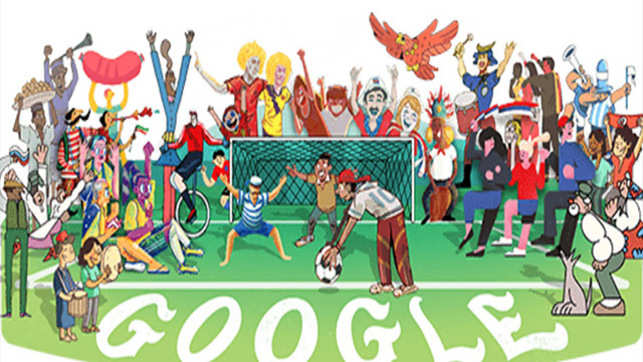 World Cup 2018: Google kicks off the FIFA event with a special doodle