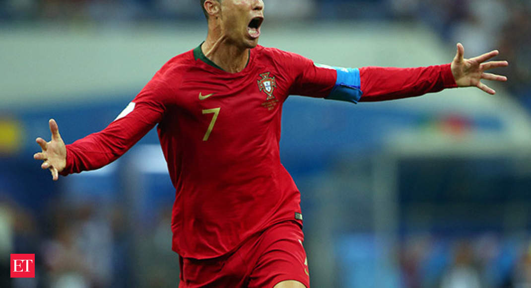 a35d6919c World Cup 2018  Portugal draws with Spain thanks to Ronaldo heroics - The  Economic Times Video