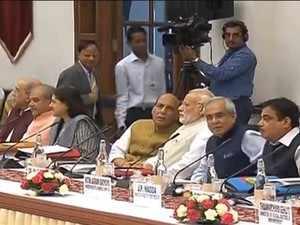 PM Modi chairs Niti Aayog council meet