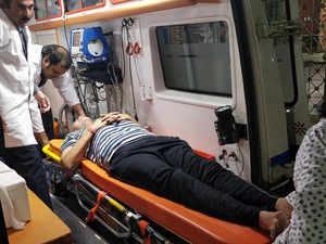 Delhi: AAP's Satyendra Jain hospitalised after he falls ill during sit-in strike