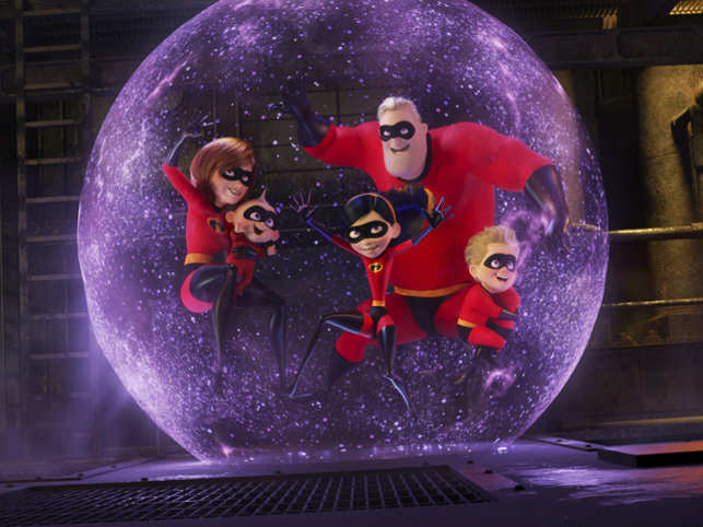 Incredibles 2 smashes animated-movie opening weekend record