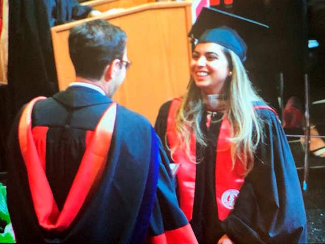 Isha Ambani: Graduation day! Isha Ambani completes MBA, receives