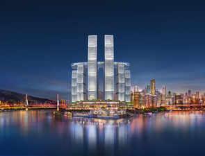 Gravity Defying: China's Horizontal Skyscraper Is Architecture Goals
