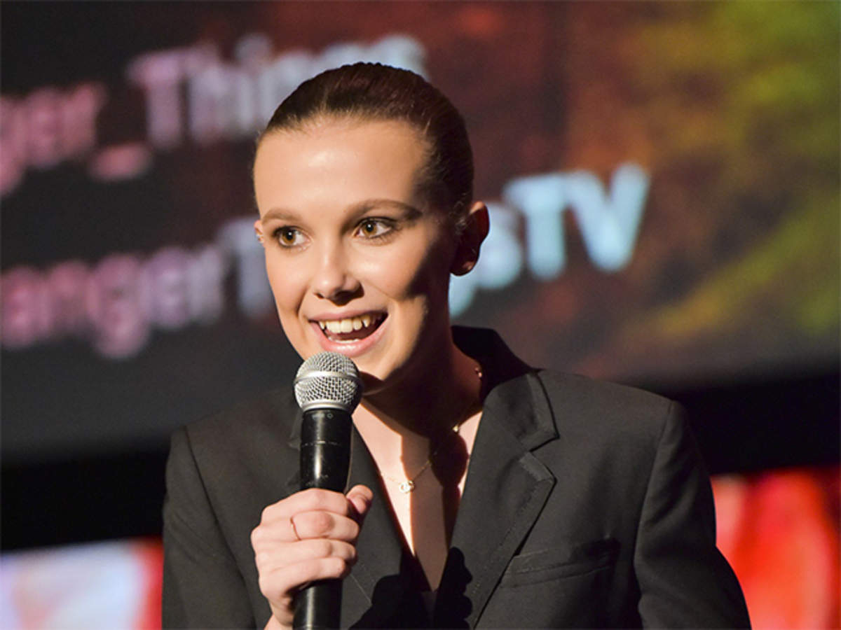 Starnger Things: Millie Bobby Brown blasts cyber bullies at MTV