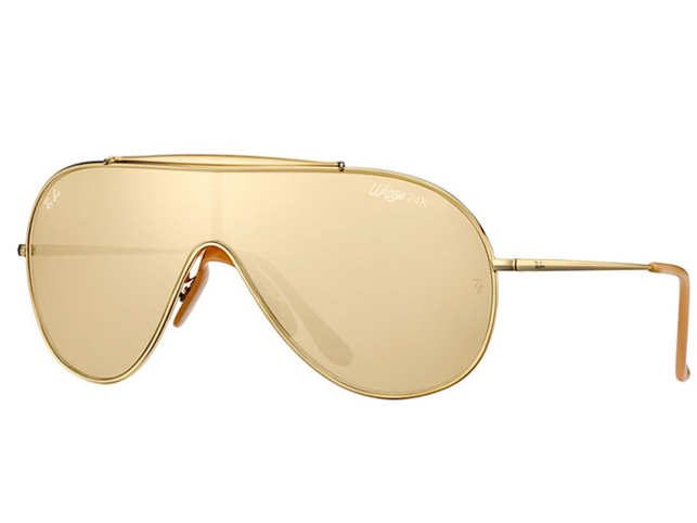 2b7b1aaf90cc3 Ray-Ban is releasing only 500 pairs of the Wings 24-Carat Gold Limited  Edition sunglasses.