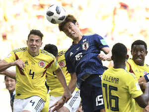 Japan beat 10-man Colombia 2-1 in another World Cup upset - The ... 9ebc32063