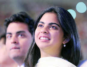 Stanford done, now Isha Ambani to join family business