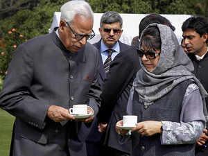 Jammu and Kashmir: President Kovind approves Governor's rule