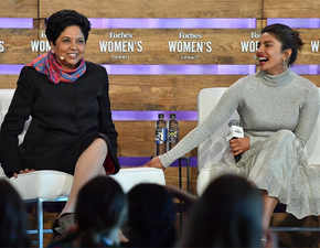 Indra Nooyi chats with Priyanka Chopra - and it's a power talk on racism, feminism, and building empires