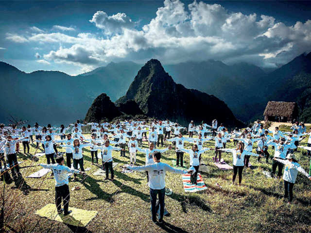 How Glasgow, Amsterdam, Brussels are celebrating International Yoga Day