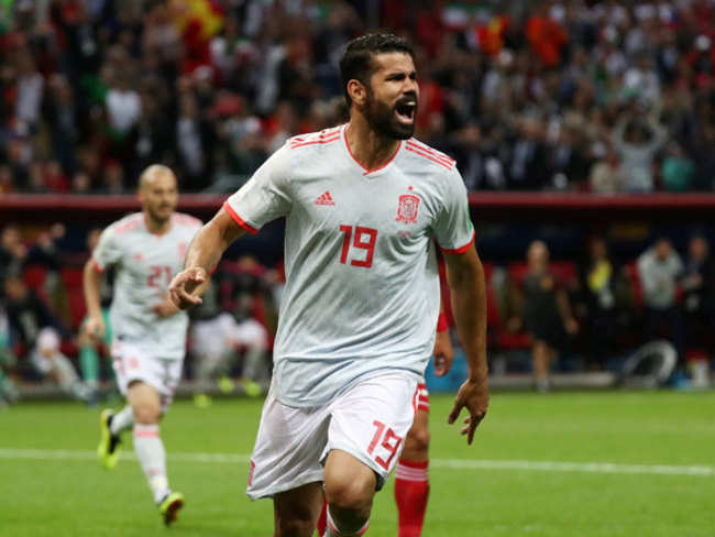 Diego Costa grabs lucky goal as relieved Spain beat Iran 1-0