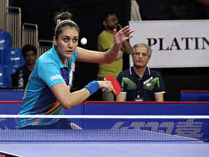 Manika Batra comes out of the shadows