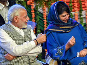 Modi and Mehbooba