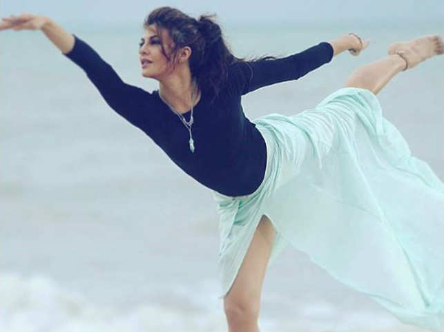 International Yoga Day: Jacqueline Fernandez recommends 3 yoga poses to stay calm & in shape
